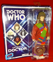 Doctor Who Retro Action Figure Series 1: The Fourth Doctor - Sealed On Card